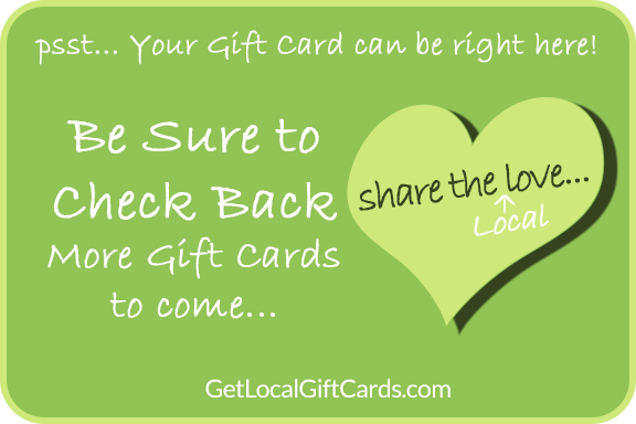 Get Local Gift Cards online