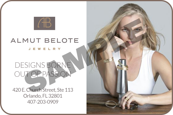 Almut Belote Jewelry local Orlando digital Gift Card